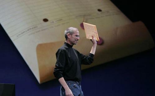 keynote steve jobs macbook air