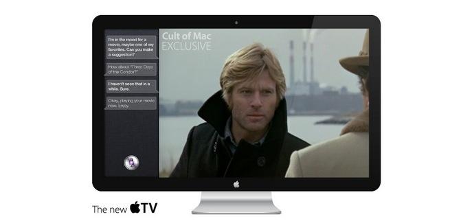 concepto televisión apple