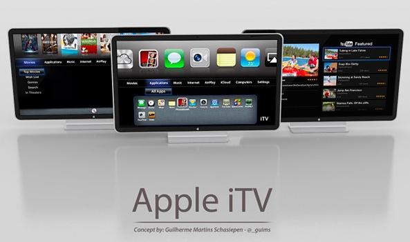 television apple concepto