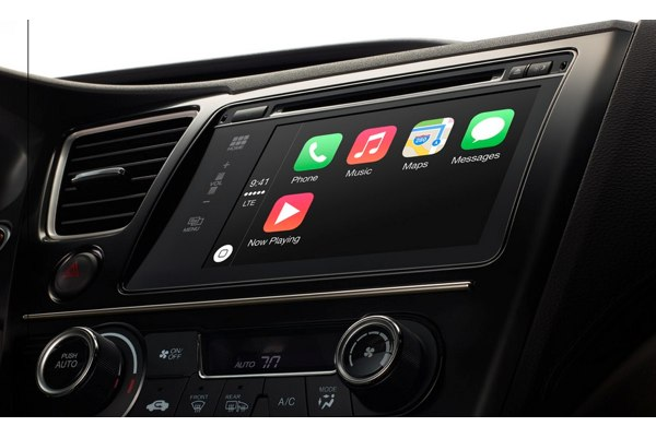 carplay integrado salpicadero