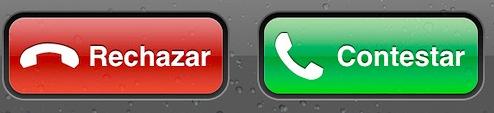icono llamada iphone