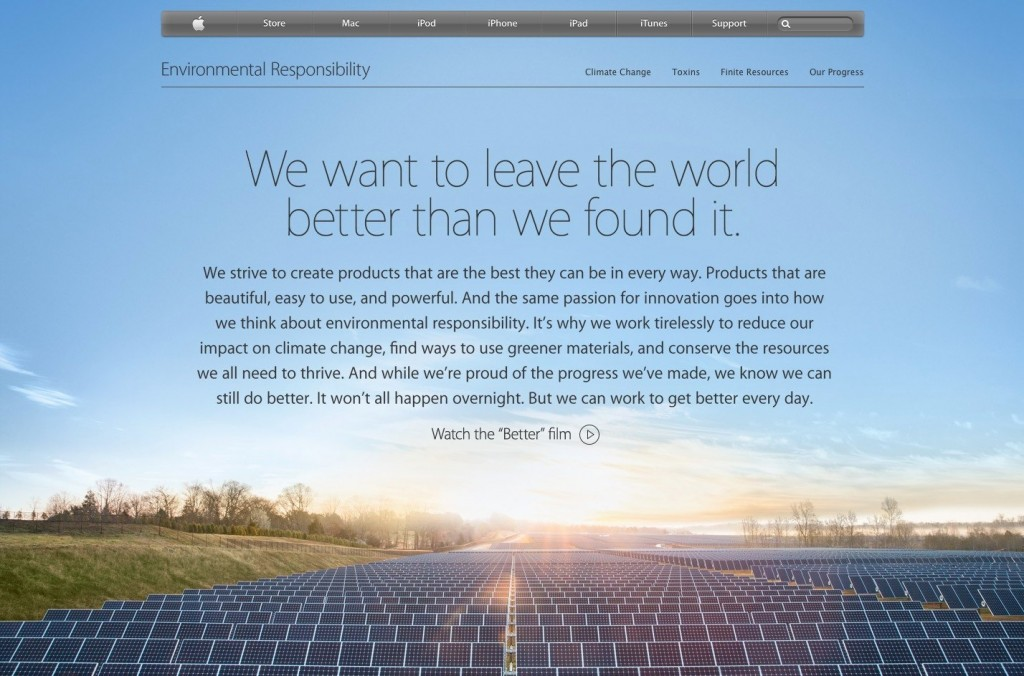 apple better web