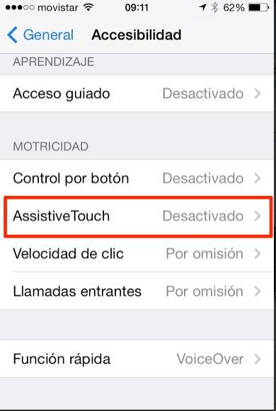 desbloquear pantalla iphone ipad 2