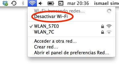 desconectar Wifi