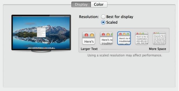 preferencias del sistema monitores 4k