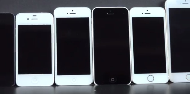 comparativa iphone 6 concepto