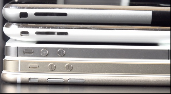 comparativa iphone 6
