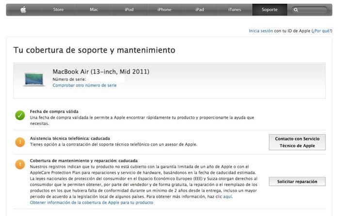 mantenimiento mac ipad iphone