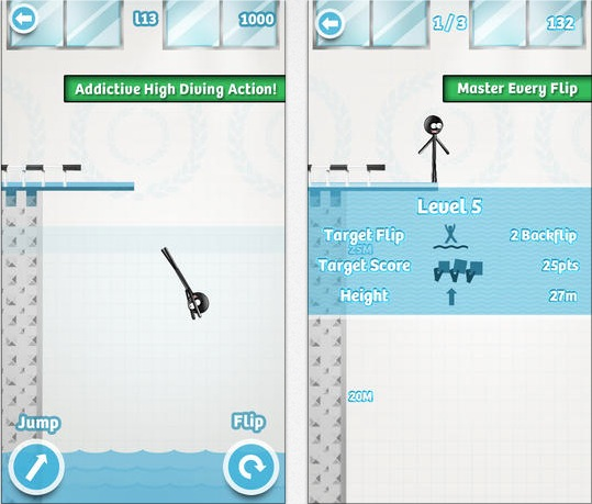 Stickman High Diving Pro