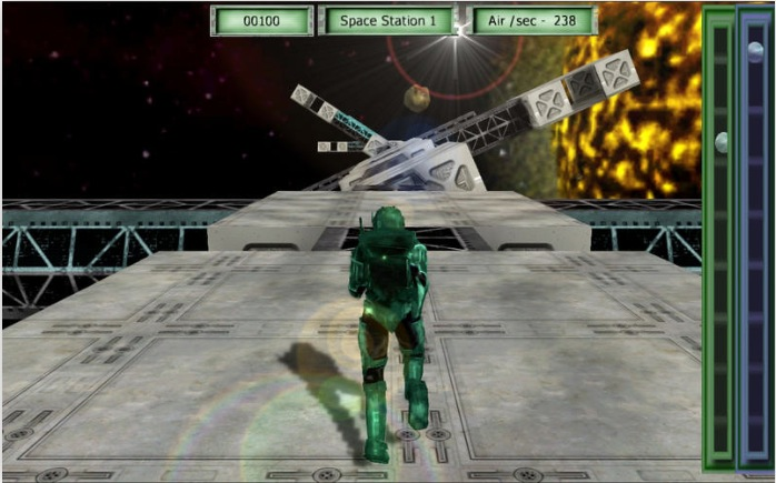 Actions Stations 3D Space Mission