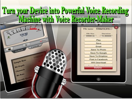 Voice Recorder Maker