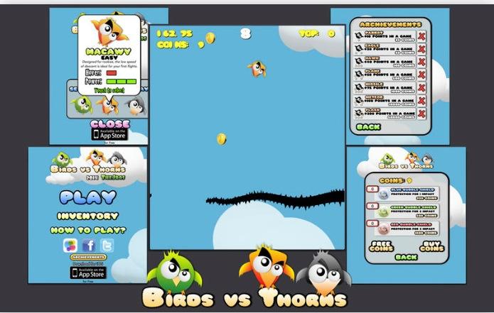 Birds Vs Thorns