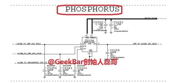 Phosphorous iphone 6