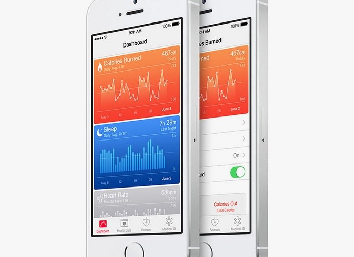 healthkit iphone 5s