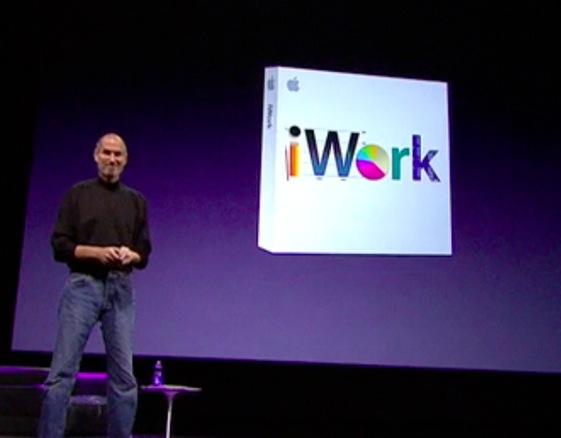 steve jobs iwork