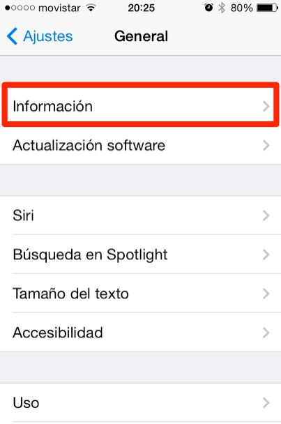 cambiar de nombre ipad o iphone 1