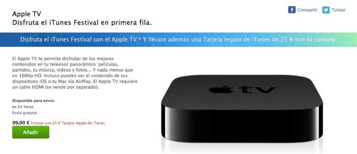 promocion apple tv