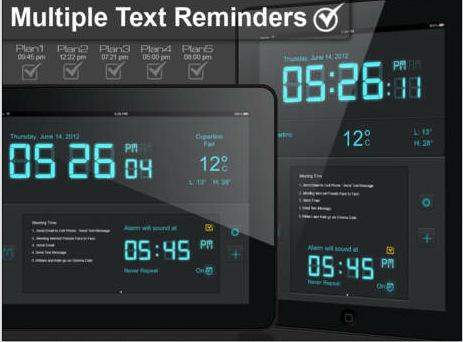 Alarm Clock & Day Reminder