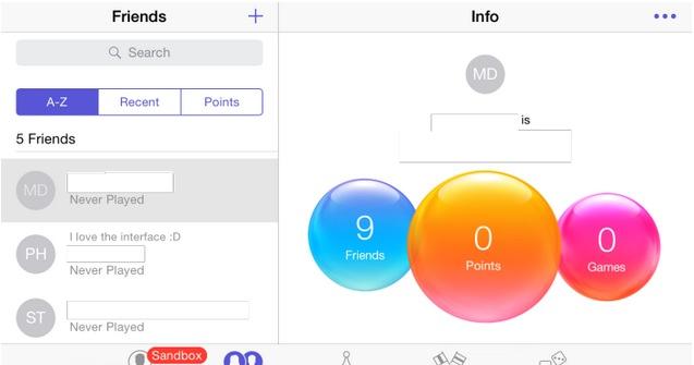 iphone 6 gamae center modo horizontal