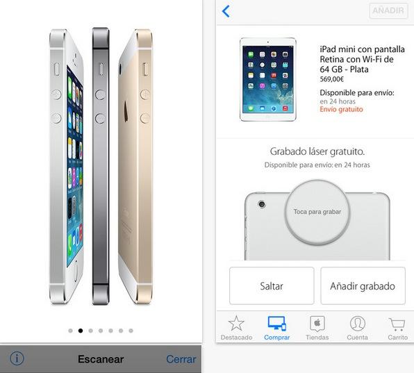 aplicacion apple store