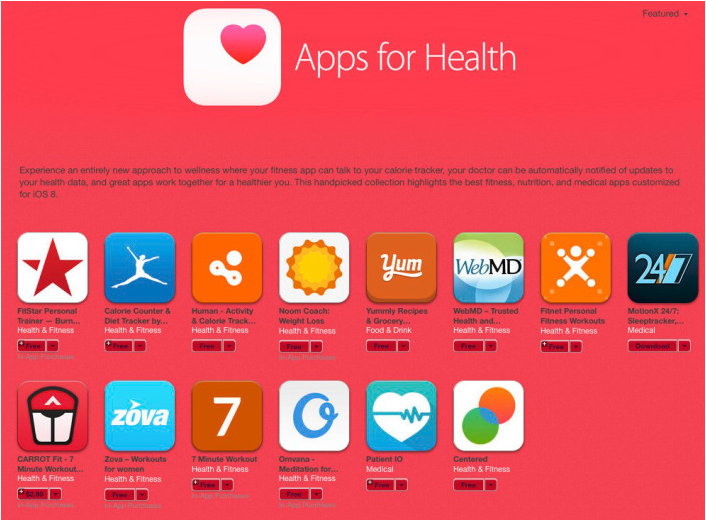 aplicaciones salud iphone