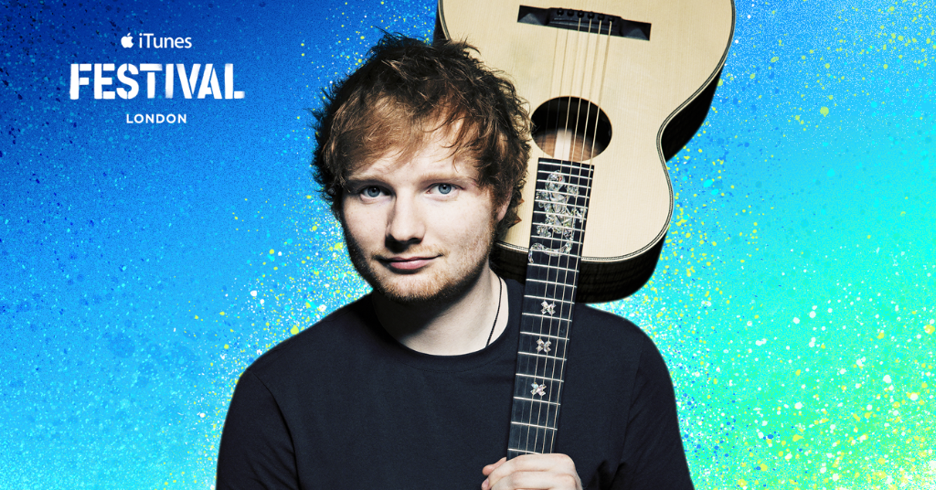 Ed Sheeran iTunes festival 2014