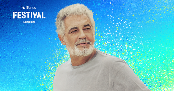 Placido Domingo iTunes Festival