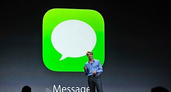 mensajes ios