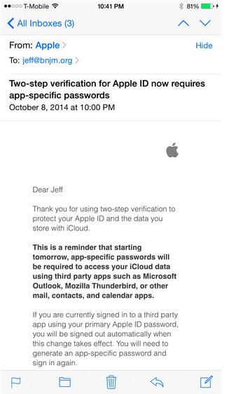 mail apple
