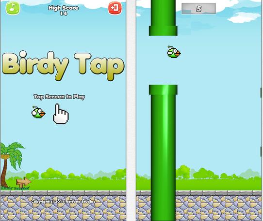 Birdy tap