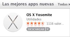 Tutorial Instalacion limpia OS X Yosemite - App Store