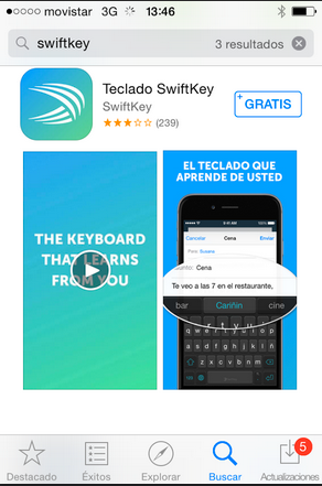 teclado iphone ipad ios 8 1