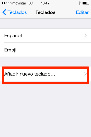 teclado iphone ipad ios 8 2