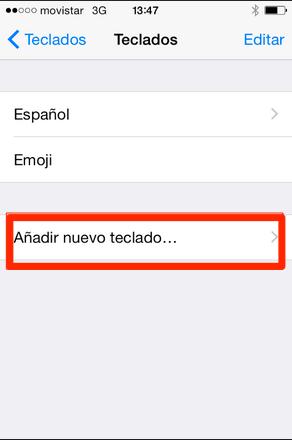 teclado iphone ipad ios 8 2