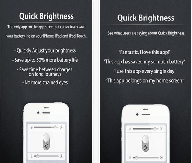 Quick Brightness Control