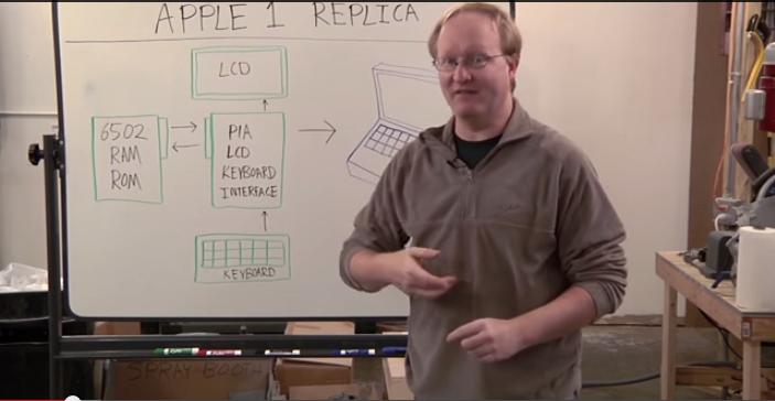 como construir una replica de Apple 1
