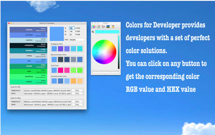 Colors for Developer