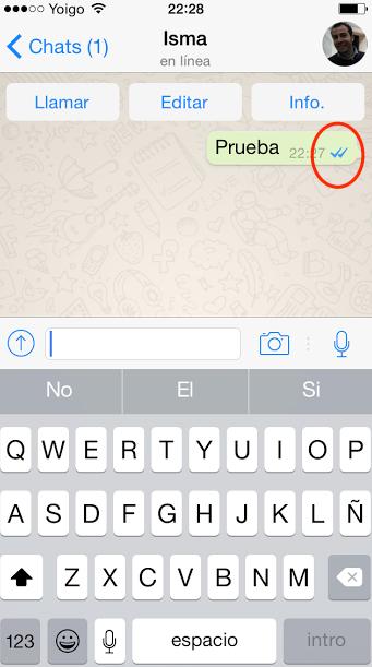 WhatsApp ya permite saber si nuestros mensajes han sido abiertos y leidos