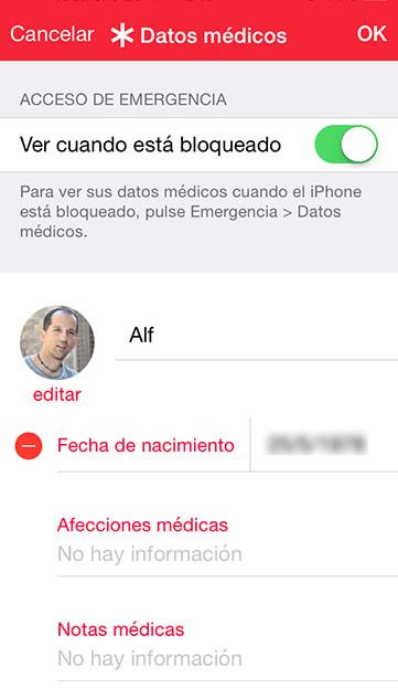 apple Salud y 112 datos medicos 2