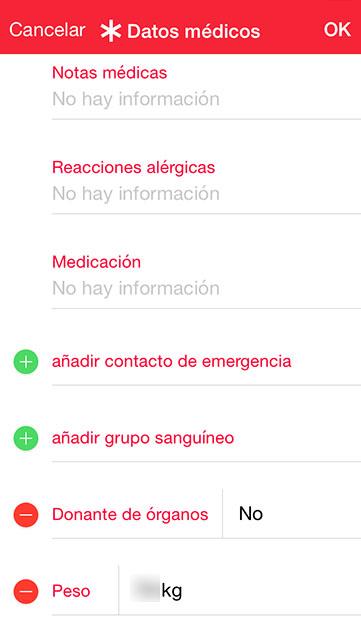 apple Salud y 112 datos medicos 3