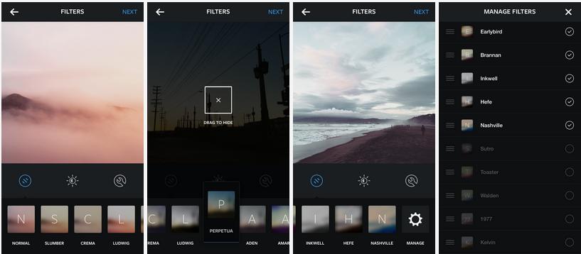 filtros isntagram