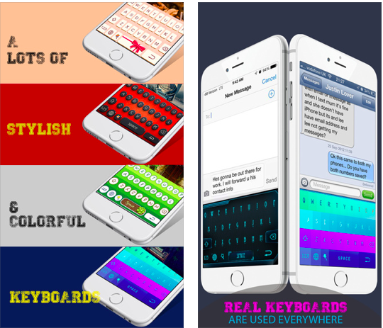 Style Keyboard Color