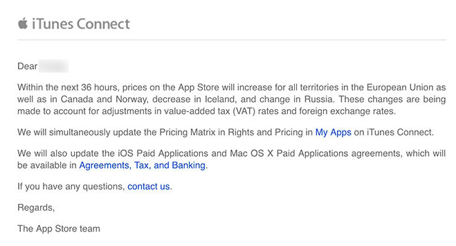 carta apple a los desarrolladores