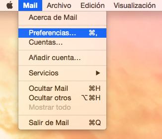preferencias sistema mail