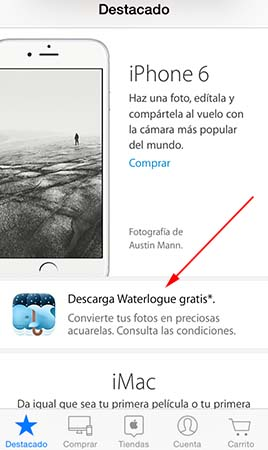 decarga Waterlogue gratis codigo Apple Store - 1
