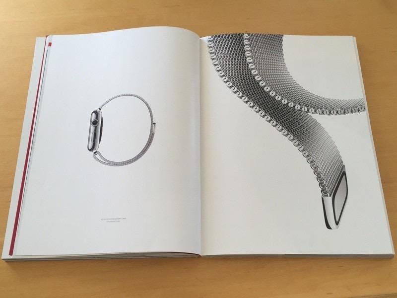 publicidad de Apple Watch en revista Vogue marzo 2015