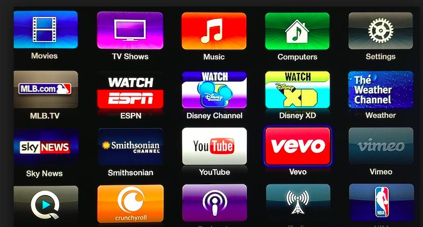 televisión canales apple