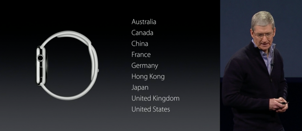 Lanzamiento Apple Watch 2015