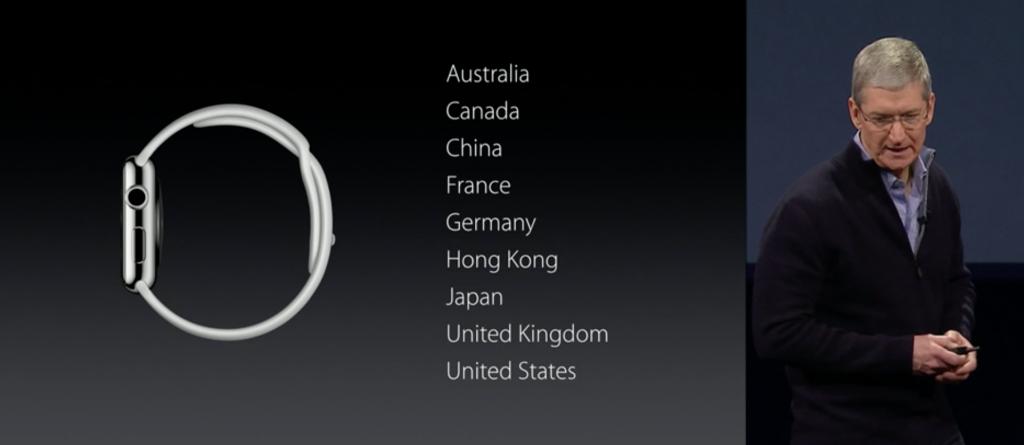 Lanzamiento Apple Watch 2015