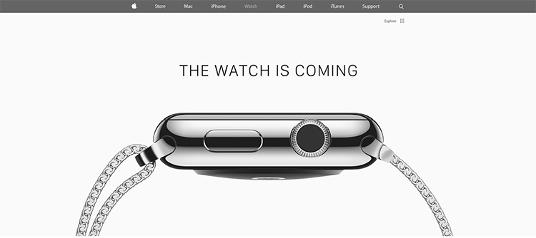 apple Watch is coming 2015
